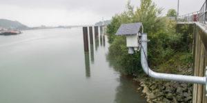 Rivermeter im Ennshafen
